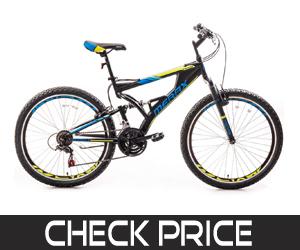 Merax Falcon Full-Suspension Mountain Bike