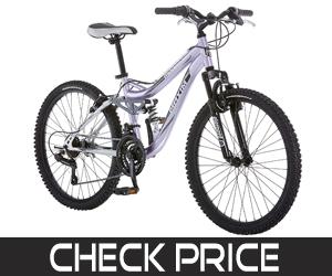 Mongoose Girl's Full Suspension Mountain Bike